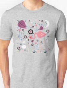 Flamingo & Chick  T-Shirt