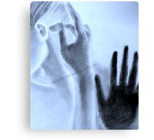 the touch  Canvas Print