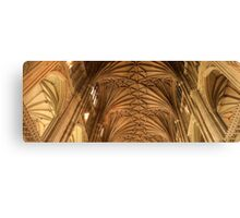 Canterbury Cathedral Nave Canvas Print