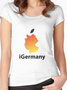 iGermany Women's Fitted Scoop T-Shirt