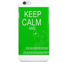 Keep Calm and Kermie On iPhone Case/Skin