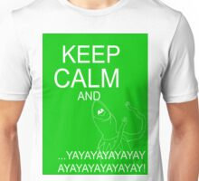 Keep Calm and Kermie On Unisex T-Shirt