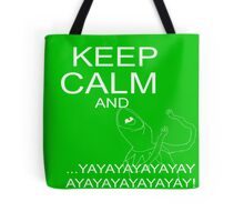 Keep Calm and Kermie On Tote Bag