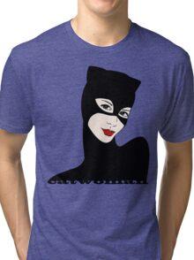 Catwoman retro Tri-blend T-Shirt