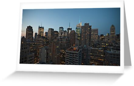 Manhattan in motion - uptown by mindrelic