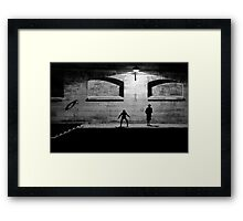 City of Darkness Framed Print