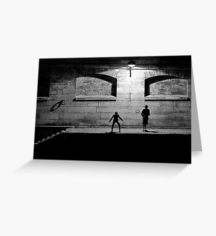 City of Darkness Greeting Card