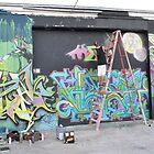 Grafitti In Progress .. by Danceintherain