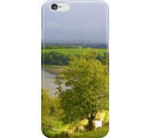 Evening Sun On The Hayfield.................Ireland iPhone Case/Skin