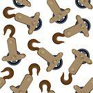 Crane hooks pattern by Laschon Robert Paul