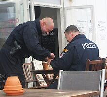 POLIZEI  - Men at work!?! by Sioned Thomas-Photography