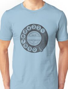 Telephone Dial Unisex T-Shirt