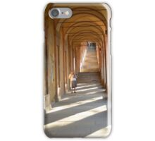 Nun on pilgrimage iPhone Case/Skin