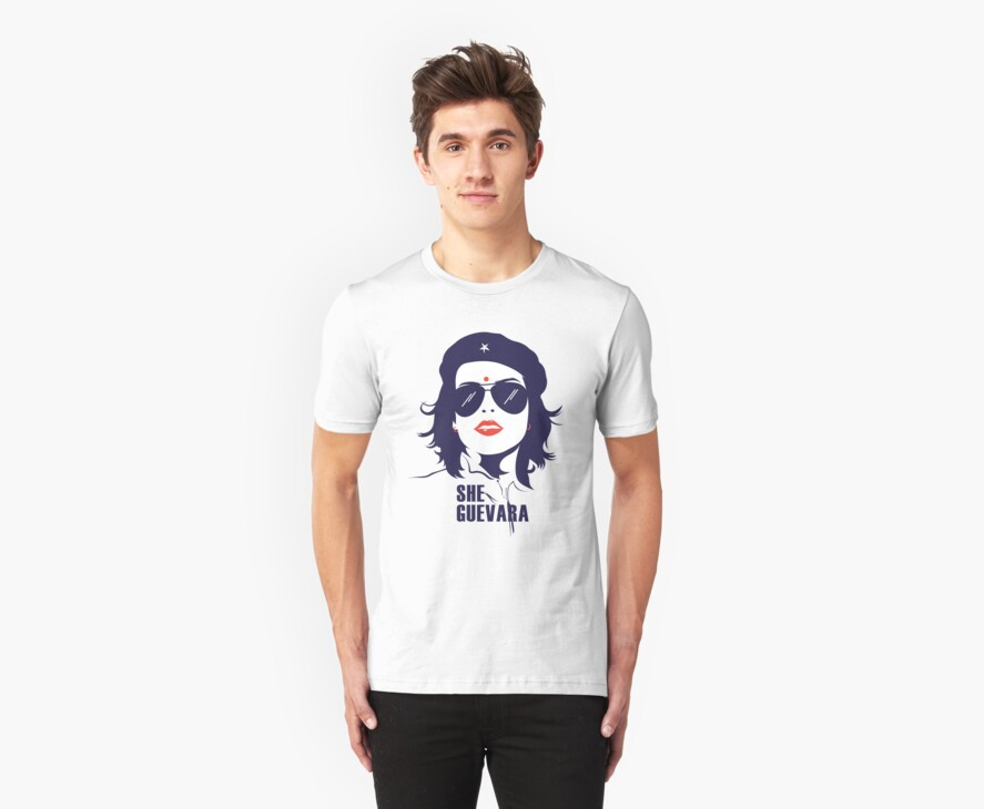 She Guevara by tshirtbaba