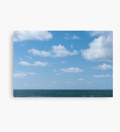 Sea and sky Canvas Print