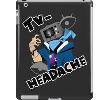 television headache iPad Case/Skin
