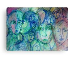 Heart's Desert Canvas Print