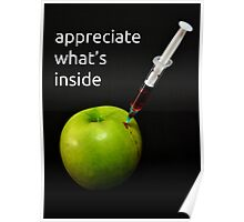 appreciate what's inside Poster