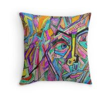 The Mechanic Throw Pillow