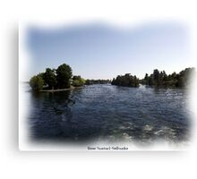 St. Lawrence Seaway/Thousand Islands #3 Canvas Print