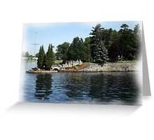 St. Lawrence Seaway/Thousand Islands #5 Greeting Card