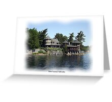 St. Lawrence Seaway/Thousand Islands #6 Greeting Card
