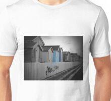 Beach Huts Westward Ho! Unisex T-Shirt