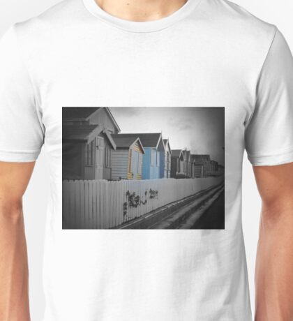 Beach Huts Westward Ho! Unisex T-Shirt