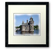 St. Lawrence Seaway/Thousand Islands #11 - Boldt Castle Framed Print