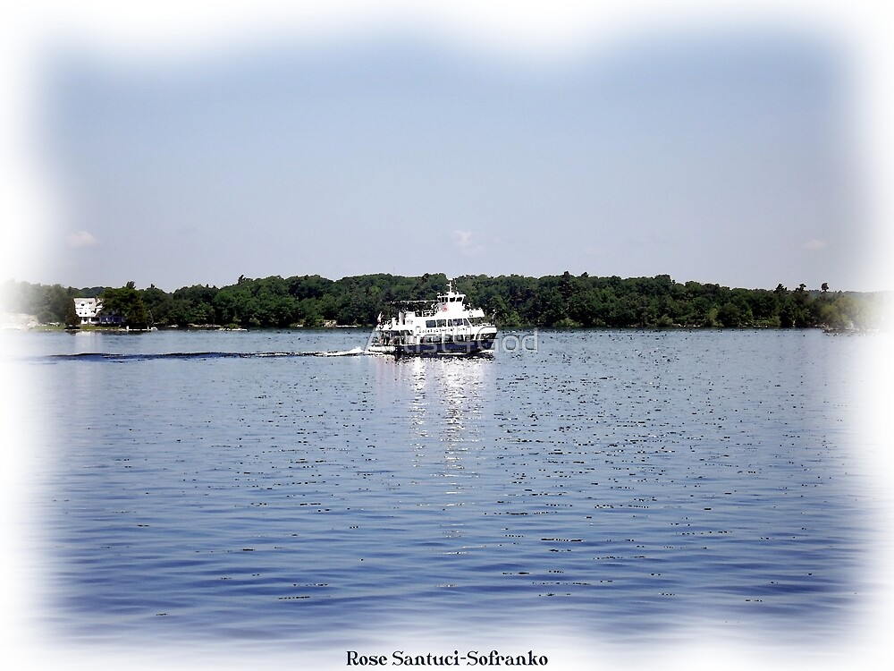 St. Lawrence Seaway/Thousand Islands #15 by Rose Santuci-Sofranko