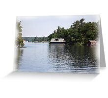 St. Lawrence Seaway/Thousand Islands #18 Greeting Card