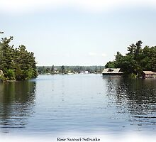 St. Lawrence Seaway/Thousand Islands #19 by Rose Santuci-Sofranko