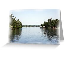 St. Lawrence Seaway/Thousand Islands #19 Greeting Card