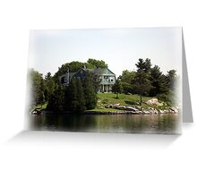 St. Lawrence Seaway/Thousand Islands #24 Greeting Card