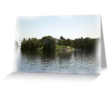 St. Lawrence Seaway/Thousand Islands #25 Greeting Card