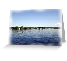 St. Lawrence Seaway/Thousand Islands #29 Greeting Card