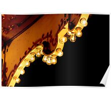Scalloped Lights Poster