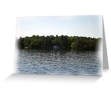 St. Lawrence Seaway/Thousand Islands #33 Greeting Card