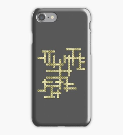 What do you get if you multiply six by nine? iPhone Case/Skin