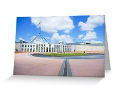 Parliament Of Australia Greeting Card
