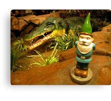 Sam and the Gator Canvas Print