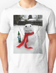 Frozen Friends Gnome T-Shirt