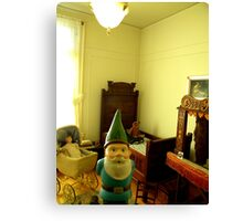 Play Gnome Canvas Print
