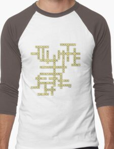What do you get if you multiply six by nine? Men's Baseball ¾ T-Shirt