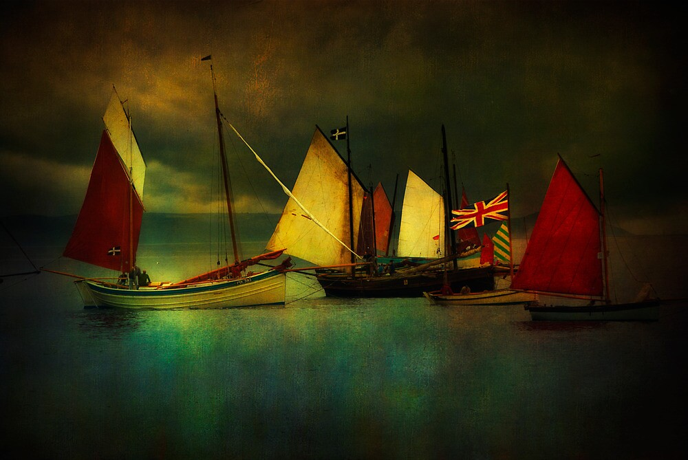 Cornish Sailers by ajgosling