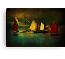 Cornish Sailers Canvas Print