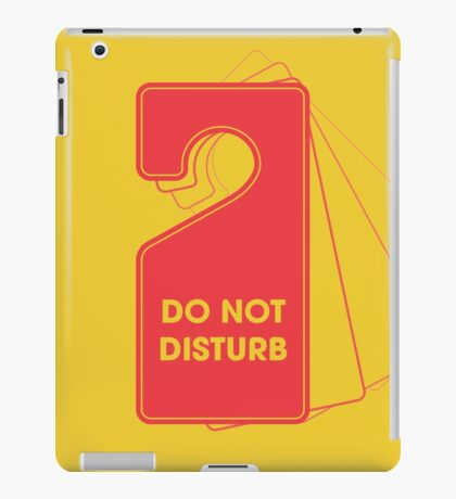 Privacy Policy iPad Case/Skin