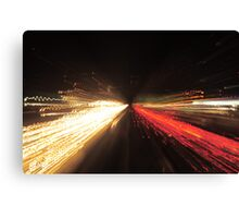 HIghway trails ! Canvas Print