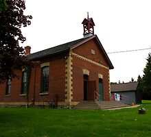 The historical 1 room Zion Schoolhouse by MarianBendeth