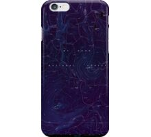 USGS Topo Map Oregon Pinhead Buttes 281100 1986 24000 Inverted iPhone Case/Skin